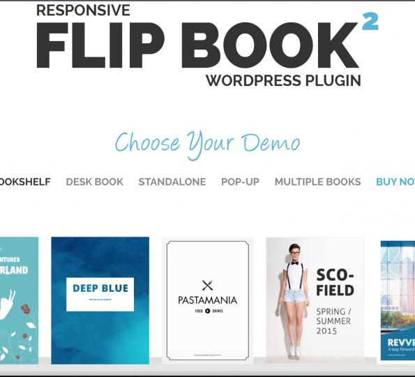 flipbook plugin for wordpress