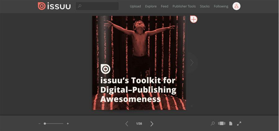 Issuu Review - Flip book software free | Flipbook Software