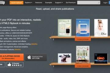 AnyFlip free flip book maker flipbook software