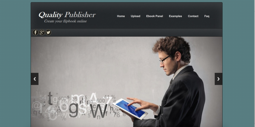Quality Publisher flipbook software